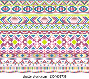 Sacral tribal ethnic motifs geometric vector background. Bohemian geometric shapes sprites tribal motifs clothing fabric textile print traditional design with triangles
