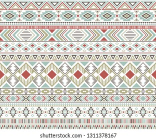 Sacral tribal ethnic motifs geometric vector background. Unusual gypsy geometric shapes sprites tribal motifs clothing fabric textile print traditional design with triangles