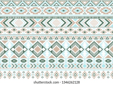 Sacral tribal ethnic motifs geometric seamless background. Bohemian geometric shapes sprites tribal motifs clothing fabric textile print traditional design with triangles