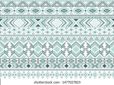 Sacral tribal ethnic motifs geometric seamless background. Abstract gypsy geometric shapes sprites tribal motifs clothing fabric textile print traditional design with triangles