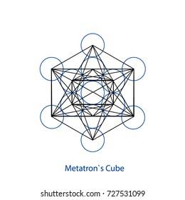 Sacred Geometry. Metatron's cube