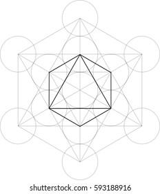 Sacred Geometry Octahedron