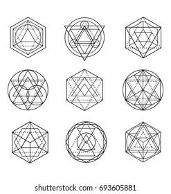 Sacred Geometry Shape