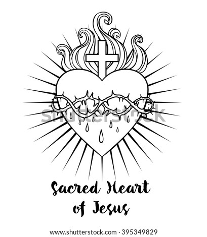 Black And White Sacred Heart Of Jesus Images Free Download Oasis Dl Co