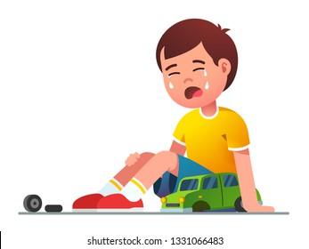 Sad Boy Cartoon Images Stock Photos Vectors Shutterstock