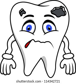 Sad Tooth Images Stock Photos Vectors Shutterstock