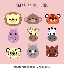 safari animal icons