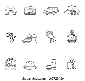 Safari icons in sketches