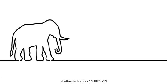 Safari sketch animal world elephant day elephants in wildlife reserve Vector icon icons sign signs fun funny silhouette Line pattern African Africa cartoon Hand drawn drawings doodle bones print tusks