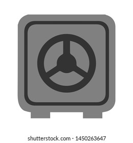 safe box icon. Logo element illustration. safe box symbol design. colored collection. safe box concept. Can be used in web and mobile