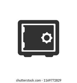 safe. monochrome icon