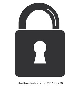 safe secure padlock icon
