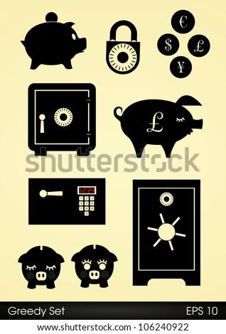 Safes locks and piggy