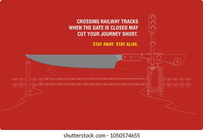 safety awareness in indian railways