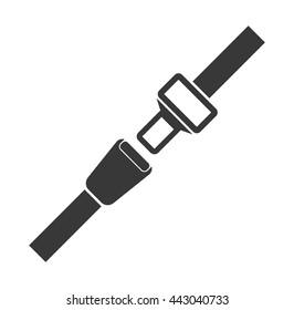 Safety belt icon.Vector illustration