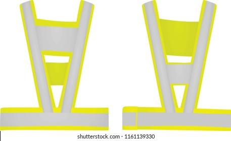 Safety belt. vector illustration