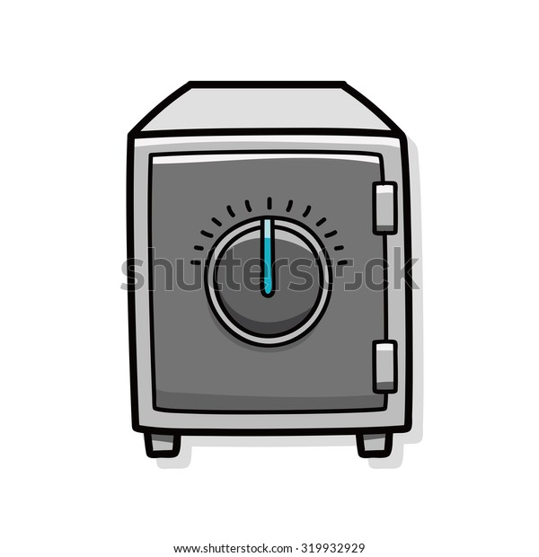 Safety Deposit Box doodle