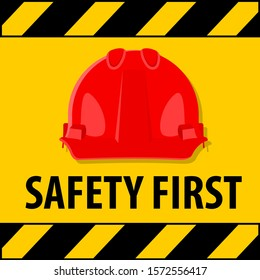 Safety First Sign Road Stock Vectors Images Vector Art Shutterstock