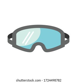 Safety Glasses icon vector illustration