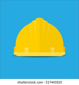 Safety helmet icon.