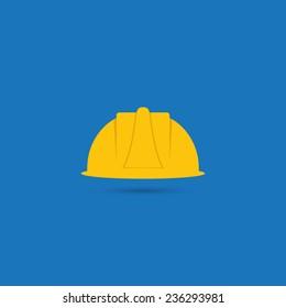 Safety helmet icon - Vector
