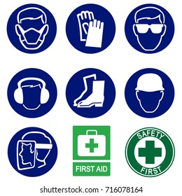 Safety Icons,Construction Industry Health