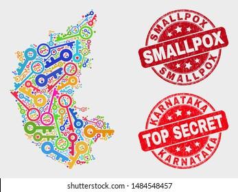 Karnataka Map Images, Stock Photos & Vectors | Shutterstock