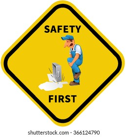 Safety Poster.Equipment,