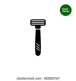 Safety razor icon