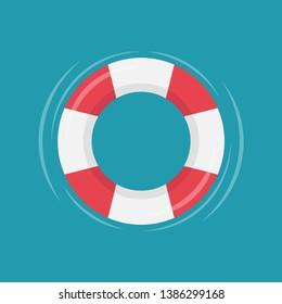 safety torus vector. symbol. logo design.