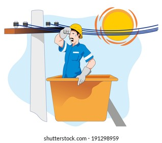 safety at work, danger of heatstroke