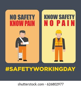 safety working illustration