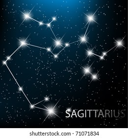 Sagittarius Constellation Images, Stock Photos & Vectors
