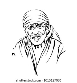 Sai Baba of Shirdi, Indian spiritual master, Philosophy , Bhakti Yoga, Sufism, Jnana Yoga, Karma Yoga Died 15 October 1918.