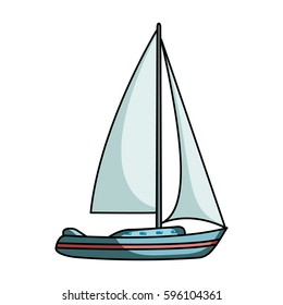 cartoon sailboat images stock photos vectors shutterstock rh shutterstock com cartoon sailboat clipart cartoon sailboat clipart