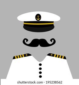 sailor captain wearing uniform