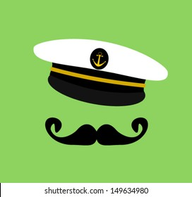 sailor with mustache