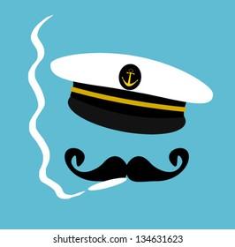 sailor smoking