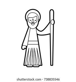 saint joseph father spiritual cartoon christmas