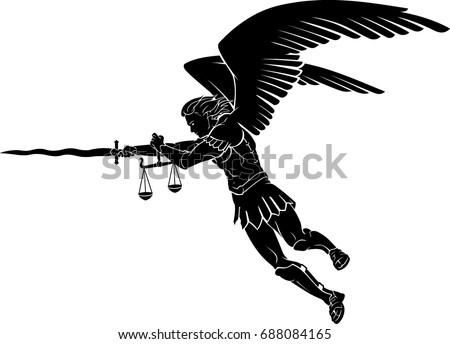 Saint Michael Warrior Angel
