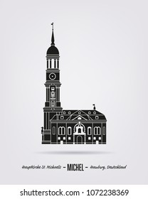 Saint Michales church, also called Michel at Hamburg, Germany