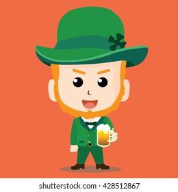 Saint Patrick's Day Character