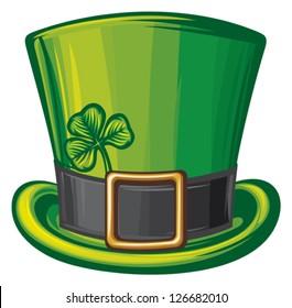 saint patrick's day leprechaun green hat