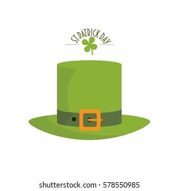 1dac76c5340 Saint Patricks Day Templates Leprechaun Hat Stock Vector (Royalty ...