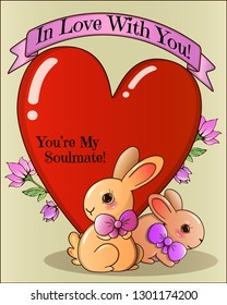 Valentine Loving Couple Soulmates Soul Mates Images, Stock