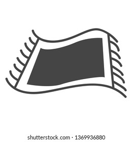 sajadah flat icon
