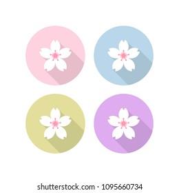 sakura flower icon