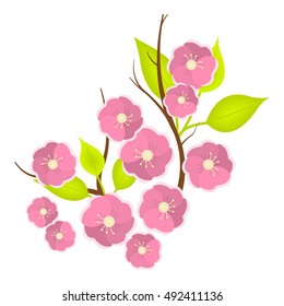 cherry blossom cartoon images stock photos vectors shutterstock rh shutterstock com cherry blossom cartoon wallpaper cherry blossom cartoon gif