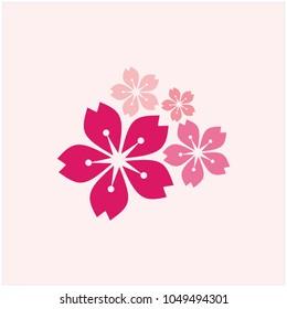 Sakura Vector Template Design