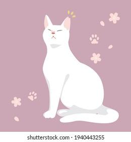 Sakuraneko vector illustration 01 Sakuraneko: Sterilized feral cats.